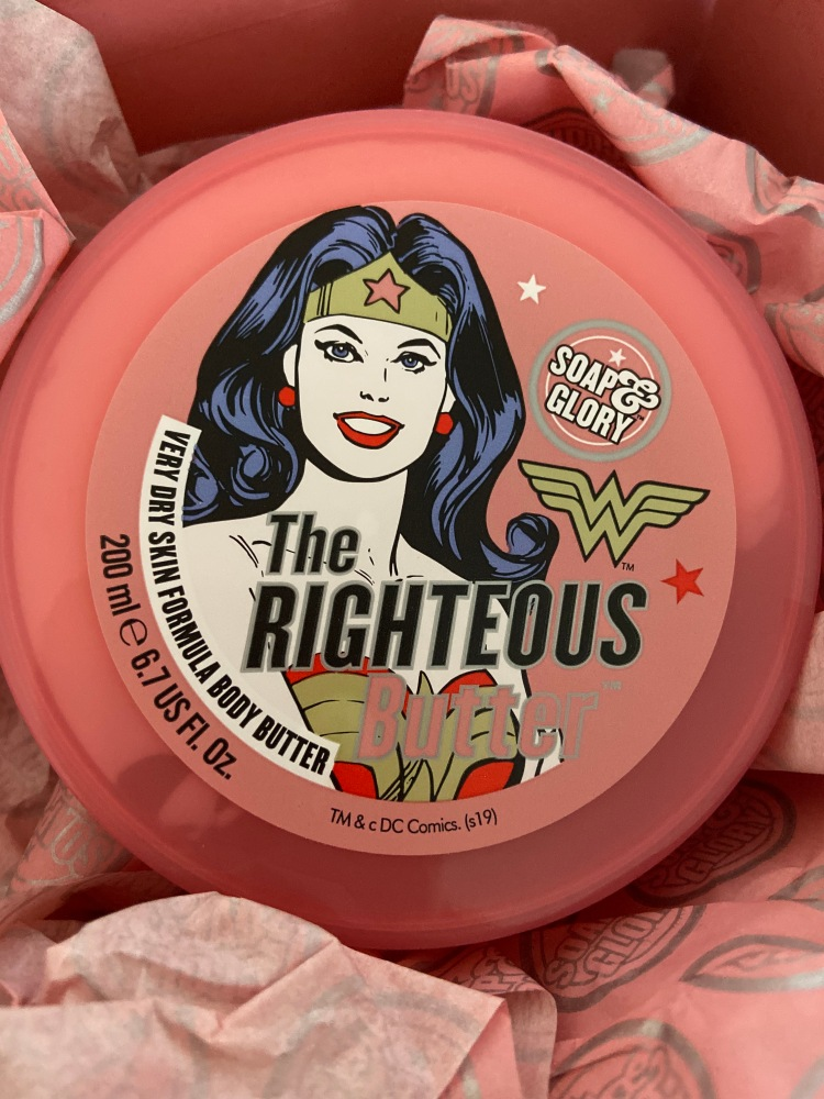 The righteous butter soap and glory